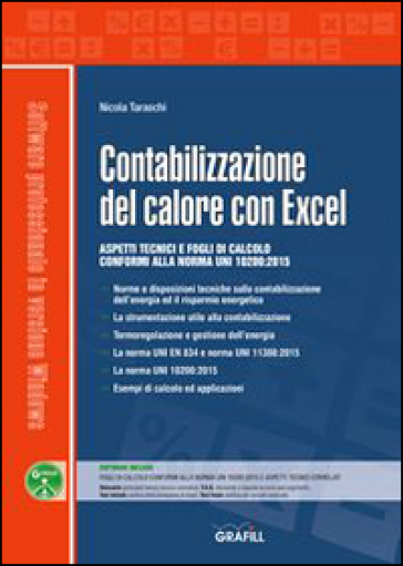 Contabilizzazione del calore con Excel. Con Contenuto digitale per download e accesso on line - Nicola Taraschi |