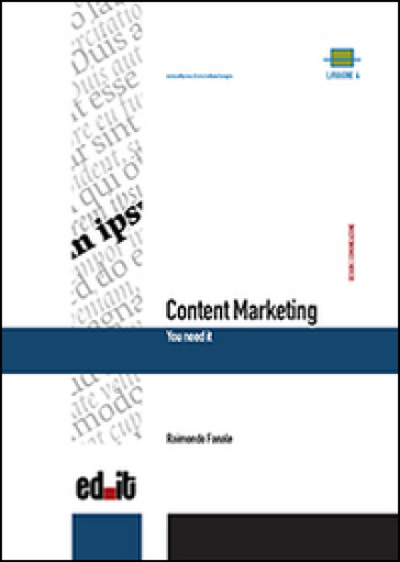 Content marketing. You need it