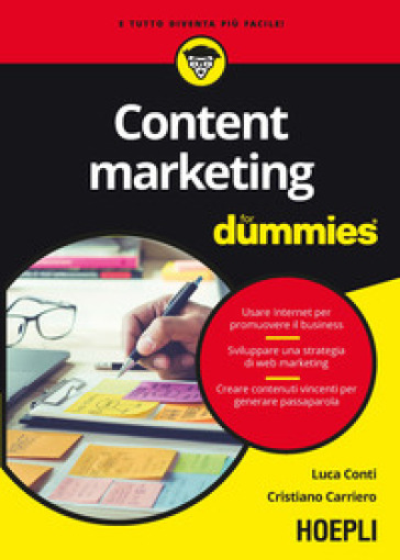 Content marketing for dummies - Luca Conti | Jonathanterrington.com
