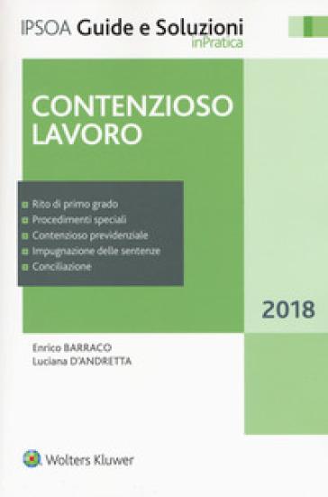 Contenzioso lavoro - Enrico Barraco |