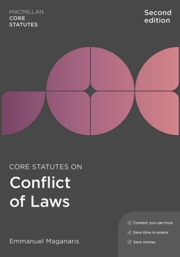 Core Statutes on Conflict of Laws
