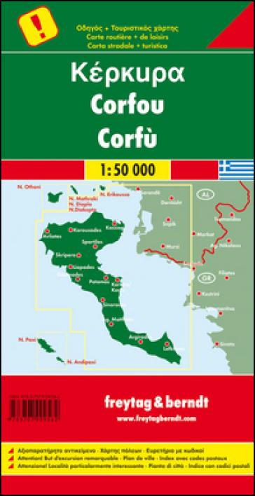 Corfù 1:50.000 -  pdf epub
