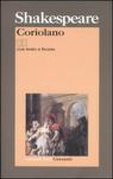 Coriolano. Testo inglese a fronte - William Shakespeare |