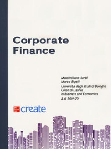 Corporate finance - Massimiliano Barbi |