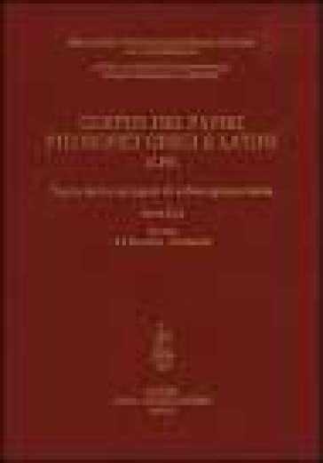 Corpus dei papiri filosofici greci e latini. Testi e lessico nei papiri di cultura greca e latina. 4.Galenus-Isocrates