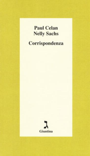 Corrispondenza - Paul Celan pdf epub