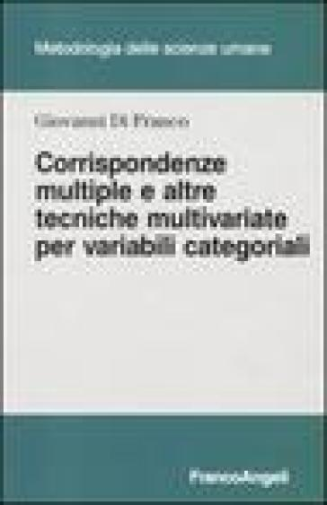 Corrispondenze multiple e altre tecniche multivariate per variabili categoriali