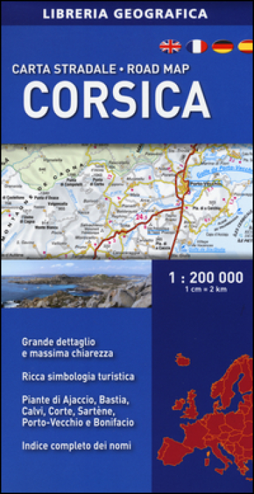 Corsica 1:200.000 -  pdf epub
