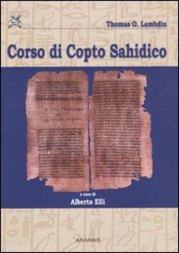 Corso di copto sahidico - Thomas O. Lambdin | Rochesterscifianimecon.com