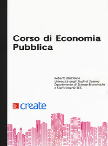 Corso di economia pubblica - Roberto Dell'Anno | Thecosgala.com