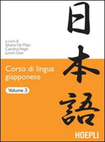 Corso di lingua giapponese. 3. - S. De Maio |