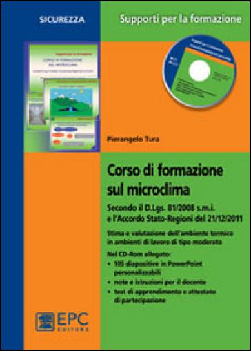Corso di formazione sul microclima. Con CD-ROM - Pierangelo Tura pdf epub