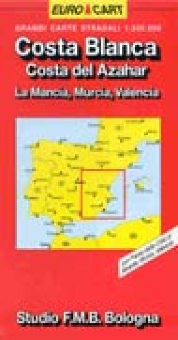 Costa Blanca e del Azahar 1:300.000 -  pdf epub