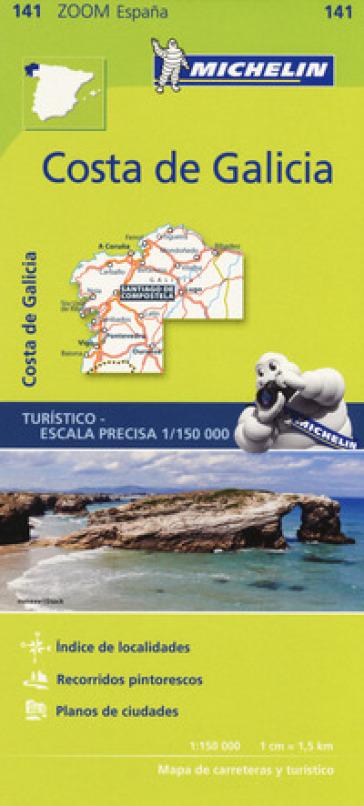 Costa de Galicia 1:150.000