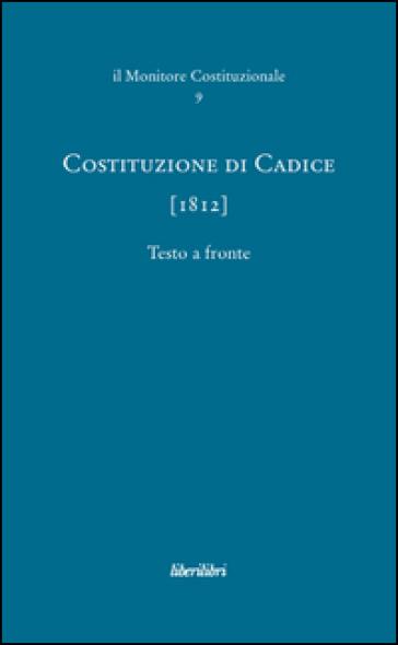 Costituzione di Cadice (1812) - S. Sileoni   Rochesterscifianimecon.com