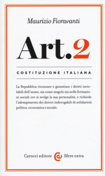 Costituzione italiana: articolo 2 - Maurizio Fioravanti   Rochesterscifianimecon.com