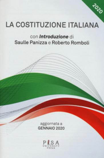 La Costituzione italiana. Aggiornata a gennaio 2020 - Saulle Panizza pdf epub