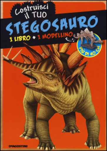 Costruisci il tuo stegosauro con gadget libro for Costruisci il tuo bungalow