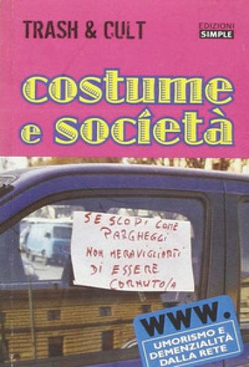 Costume e società - M. Annibali | Ericsfund.org