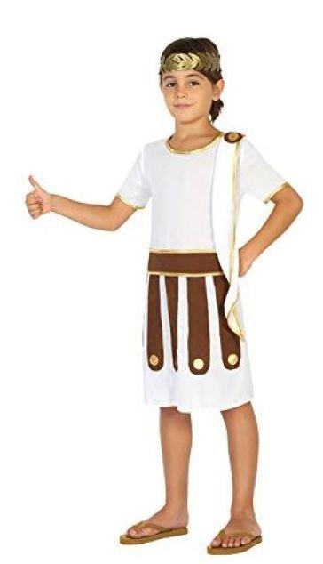 Costume per Bambini Romano 10-12 Anni