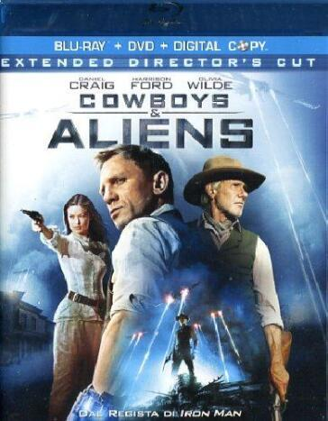 Cowboys & aliens (2 Blu-Ray)(extended director's cut) (+DVD)