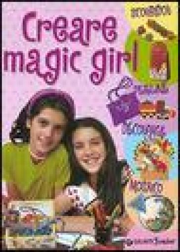 Creare magic girl. Scoubidou, perline, découpage, mosaico
