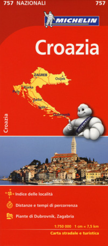 Croazia 1:750.000