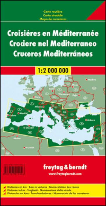 Crociere nel Mediterraneo 1:2.000.000