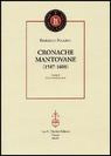 Cronache mantovane (1587-1608) - Federico Follino  