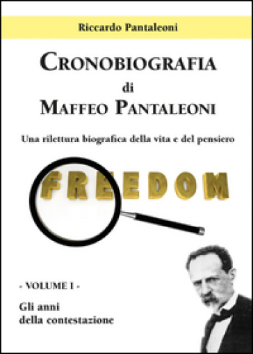 Cronobiografia di Maffeo Pantaleoni. 1. - Riccardo Pantaleoni |