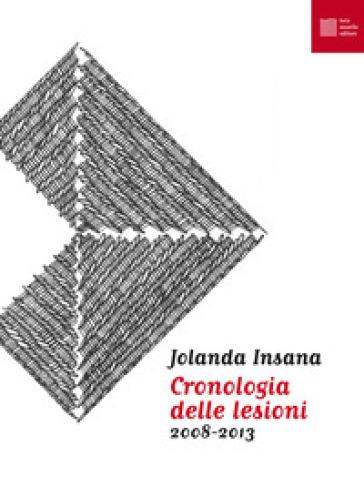 Cronologia delle lesioni (2008-2013) - Jolanda Insana |
