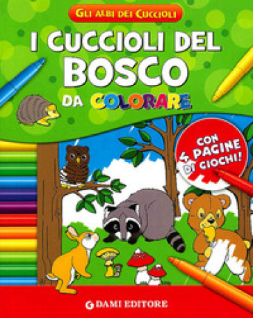 Cuccioli del bosco da colorare (I)