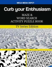 Curb Your Enthusiasm Maze and Word Search Activity Puzzle Book