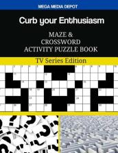 Curb Your Enthusiasm Maze and Crossword Activity Puzzle Book