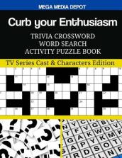 Curb Your Enthusiasm Trivia Crossword Word Search Activity Puzzle Book