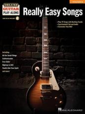 DELUXE GUITAR PLAY-ALONG VOLUME 2 REALLY EASY SONGS GTR BOOK/AUDIO