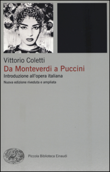 Da Monteverdi a Puccini. Introduzione all'opera italiana - Vittorio Coletti | Jonathanterrington.com