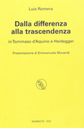 Dalla differenza alla trascendenza. In Tommaso d