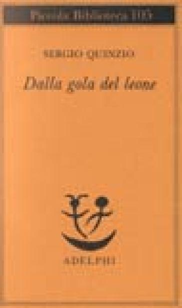 Dalla gola del leone - Sergio Quinzio | Kritjur.org