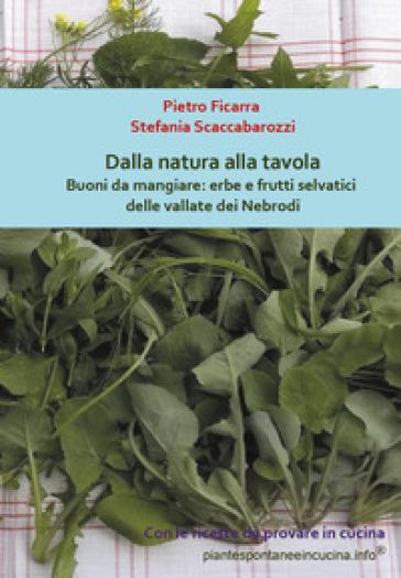 Dalla natura alla tavola. Buoni da mangiare: erbe e frutti selvatici delle vallate dei Nebrodi - Pietro Ficarra | Rochesterscifianimecon.com
