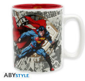 Dc Comics - Mug - 460 Ml - Superman & Logo - With Box