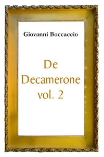 De Decamerone. 2. - Giovanni Boccaccio   Kritjur.org
