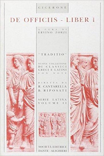De officiis. Libro 1º - Marco Tullio Cicerone | Kritjur.org