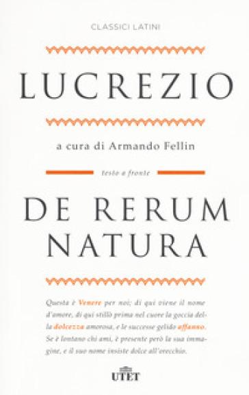 De rerum natura. Testo latino a fronte. Con ebook - Tito Lucrezio Caro | Kritjur.org