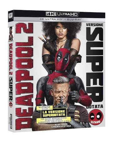 Deadpool 2 (4 Blu-Ray)(4K UltraHD+BRD) (2B4K+2BRD) (versione cinematografica + versione estesa)