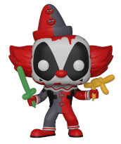 Deadpool - Pop Funko Vinyl Figure 322 Deadpool Clown 9Cm - New York Toy Fair