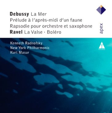 Debussy & ravel : orchestral w