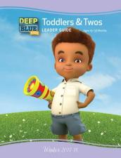 Deep Blue Kids Toddlers & Twos Leader Guide Winter 2017-18