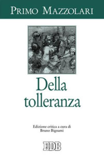 Della tolleranza - Primo Mazzolari |