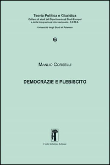 Democrazie e plebiscito - Manlio Corselli   Kritjur.org